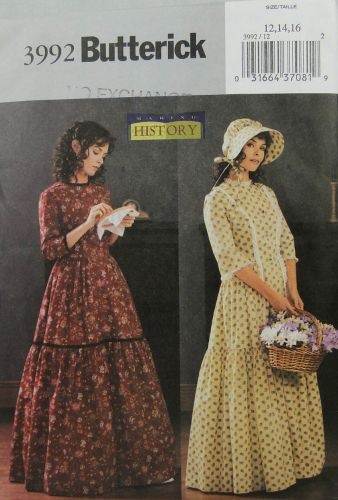 Butterick Making History 3992 Misses Costume