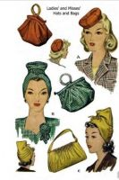 McCall's 1186 Reproduction Misses Hats and Bags