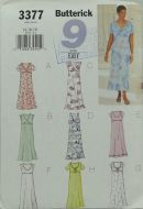 Butterick 3377 9 Sew Easy Misses Petite Dress