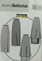 Butterick B4092 Making History Misses 1914 Basque Skirt