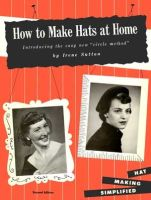 How to Make Hats At Home