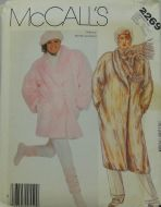 McCall's 2269 Misses Coat or Jacket