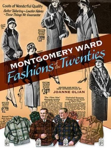 Montgomery Ward Fashions of the Twenties (Dover Fashion and Costumes) Softcover
