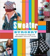 Sweater Surgery How to make new things with old sweaters - Stefanie Girard Hardcover Spiral Bound