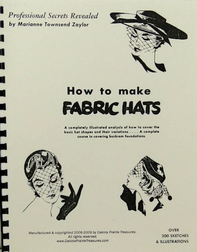 How to make Fabric Hats Professional Secrets Revealed